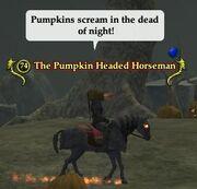 The Pumpkin Headed Horseman