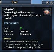 Wisp tofu