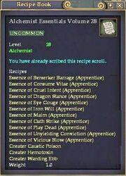Alchemist Essentials Volume 28