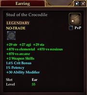 Stud of the Crocodile