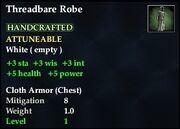 Threadbare Robe