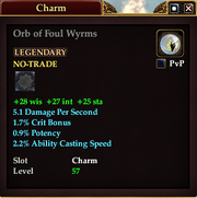Orb of Foul Wyrms