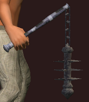 Flail of Karnor's Castle (Equipped)
