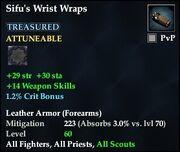 Sifu's Wrist Wraps