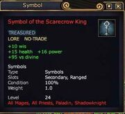 Symbol of the Scarecrow King