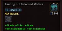 Earring of Darkened Waters