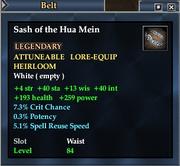 Sash of the Hua Mein