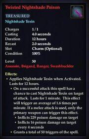 Twisted Nightshade Poison