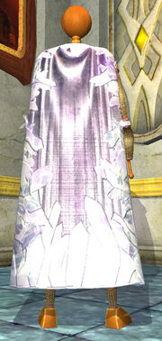 Cloak of Crystal Shards Equipped