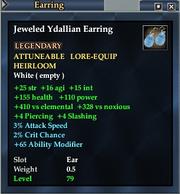 Jeweled Ydallian Earring