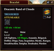 Draconic Band of Clouds