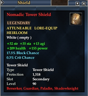 Nomadic Tower Shield