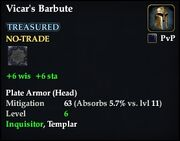 Vicar's Barbute