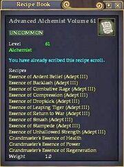 Advanced Alchemist Volume 61