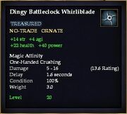 Dingy Battleclock Whirliblade