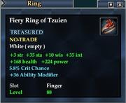 Fiery Ring of Tzuien
