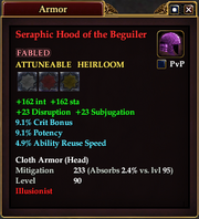 Seraphic Hood of the Beguiler