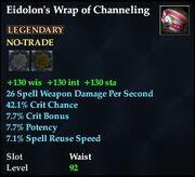 Eidolon's Wrap of Channeling