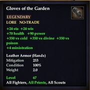 Gloves of the Garden