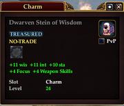 Dwarven Stein of Wisdom