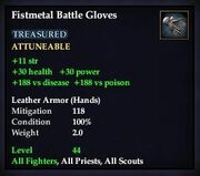 Fistmetal Battle Gloves