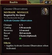 Gnome Observatron