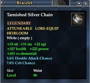 Tarnished Silver Chain
