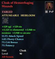 Cloak of Hemorrhaging Wounds