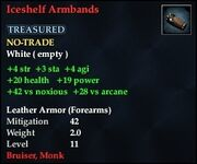 Iceshelf Armbands