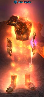 A flare impaler