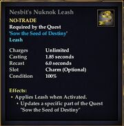 Nesbit's Nuknok Leash