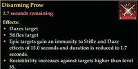 Disarming Prow