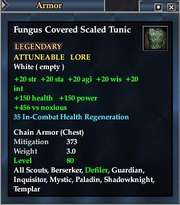 Fungus Covered Scaled Tunic