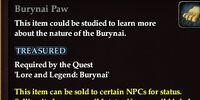 Burynai Paw