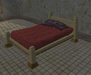 Dervish double bed (Visible)