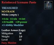 Reinforced Icemane Pants