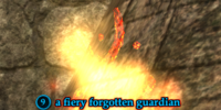 A fiery forgotten guardian