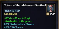 Totem of the Abhorrent Sentinel