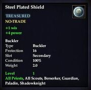 Steel Plated Shield