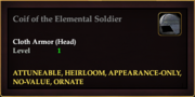 Coif of the Elemental Soldier