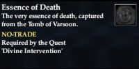 Essence of Death