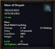 Mace of Despair
