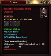 Seraphic Epaulets of the Occulist