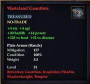 Wasteland Gauntlets
