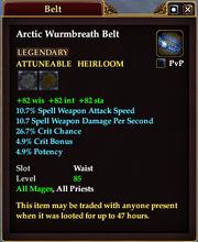 Arctic Wurmbreath Belt