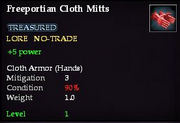 Freeportian Cloth Mitts