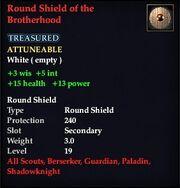 Round Shield of the Brotherhood