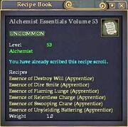 Alchemist Essentials Volume 53