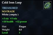 Cold Iron Loop