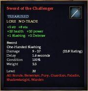 Sword of the Challenger (30)